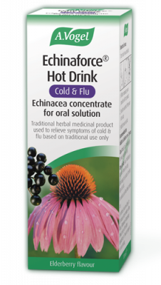 Echinaforce® Hot Drink Echinacea with Black Elderberry