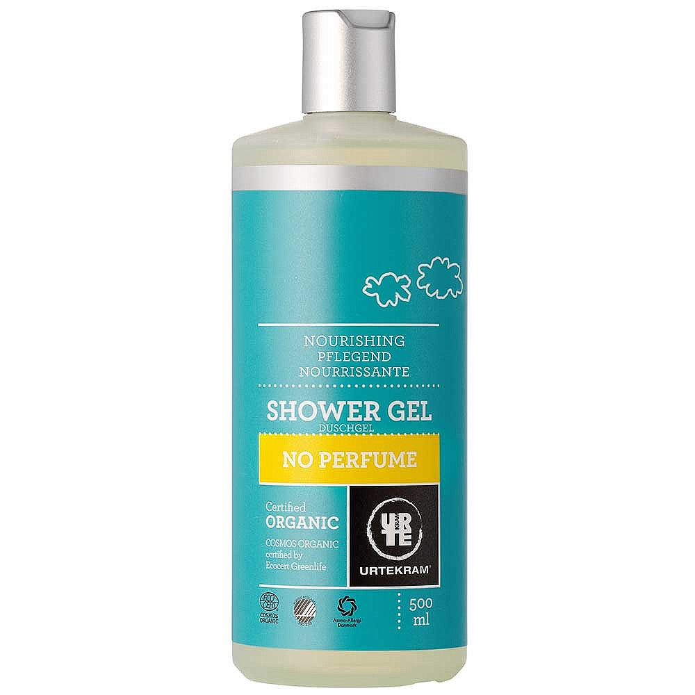 Organic No Perfume Shower Gel 500ml