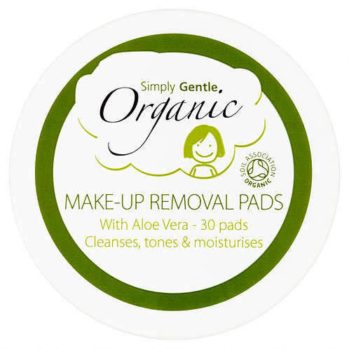 Organic Make-Up Removal Pads