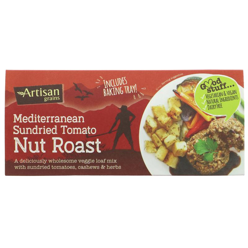 Artisan Grains Nut Roast - Sundried Tomato