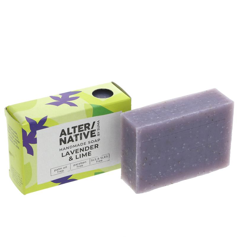 Alter/native By Suma Lavender & Lime Soap