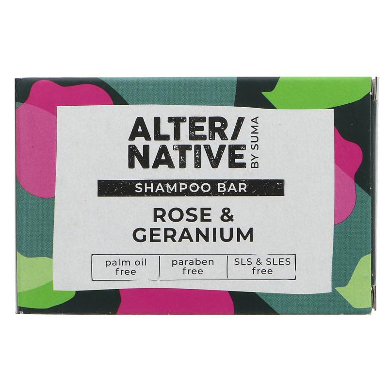 Alter/native Rose & Geranium Shampoo Bar