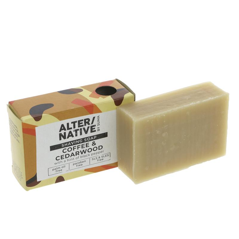 Alter/native By Suma Shaving Bar Cedarwood