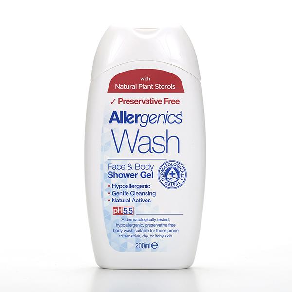 Allergenics® Face and Body Shower Gel