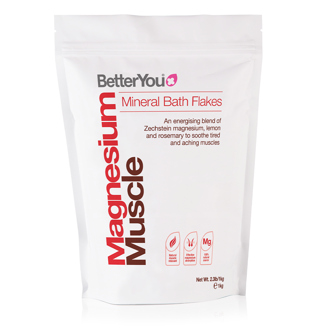 BetterYou Magnesium Muscle Bath Flakes