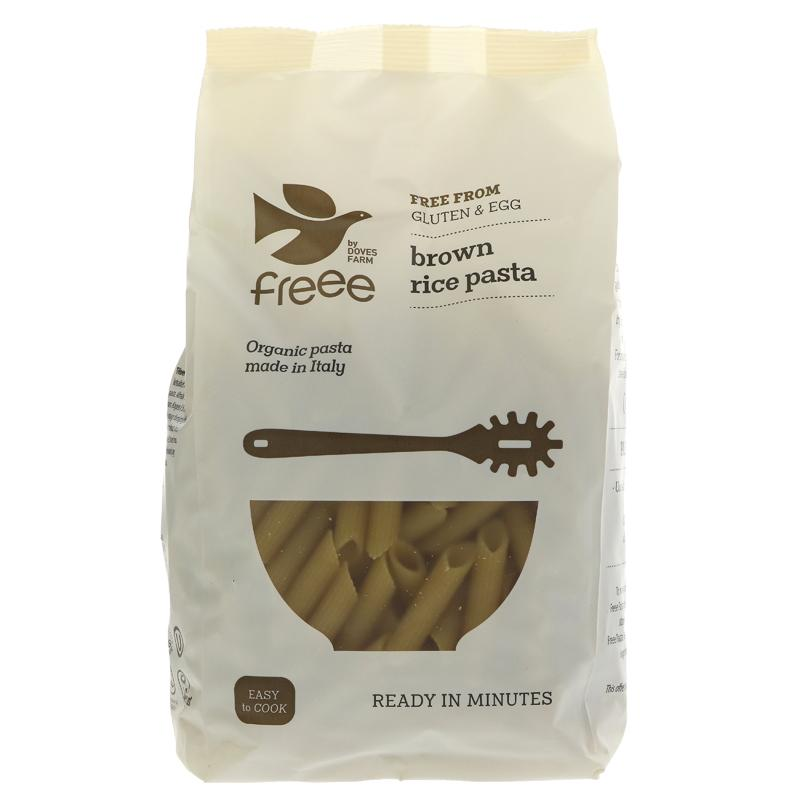 Doves Farm Organic Brown Rice Penne Pasta