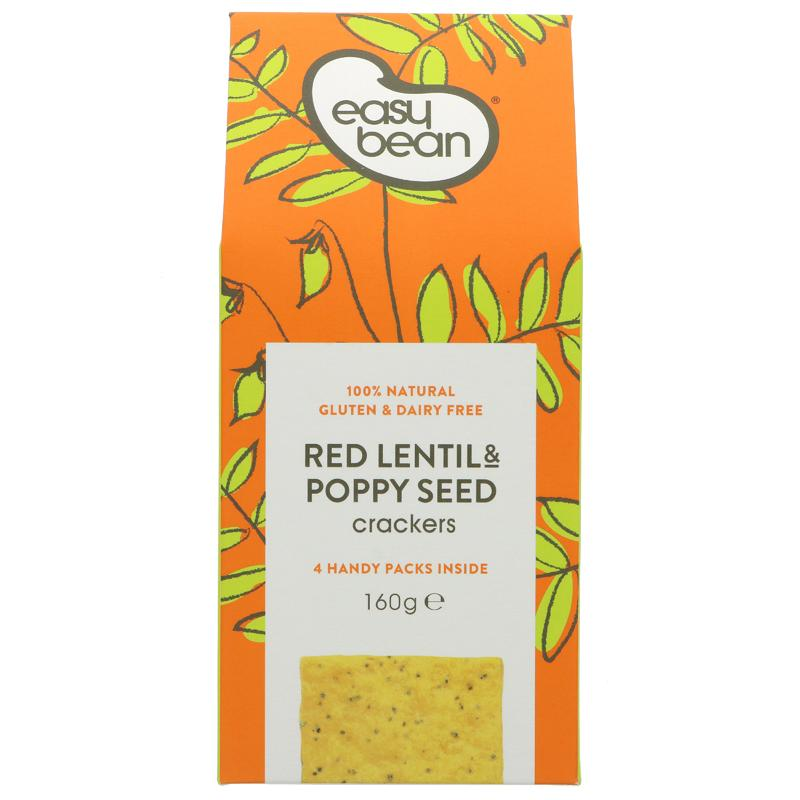 Easy Bean Red Lentil & Poppy Seed