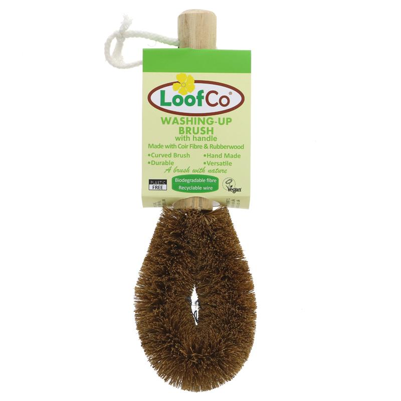 Loofco Washing-Up Brush with Handle