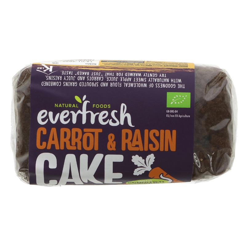 Everfresh Natural Foods Sprouted Carrot & Raisin Cake
