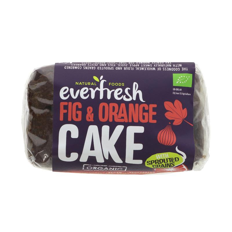 Everfresh Natural Foods Sprouted Fig & Orange Cake
