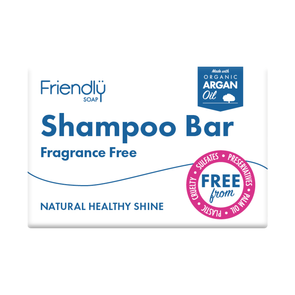 Friendly Shampoo Bar Fragrance Free
