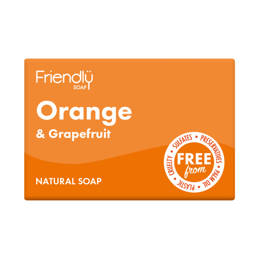 Friendly Orange & Grapefruit Soap