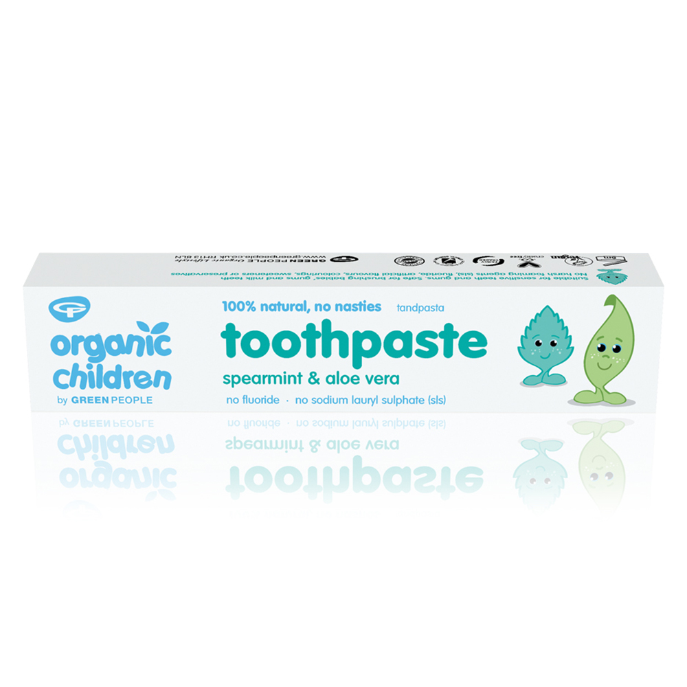 Green People Spearmint & Aloe Vera Toothpaste 50ml