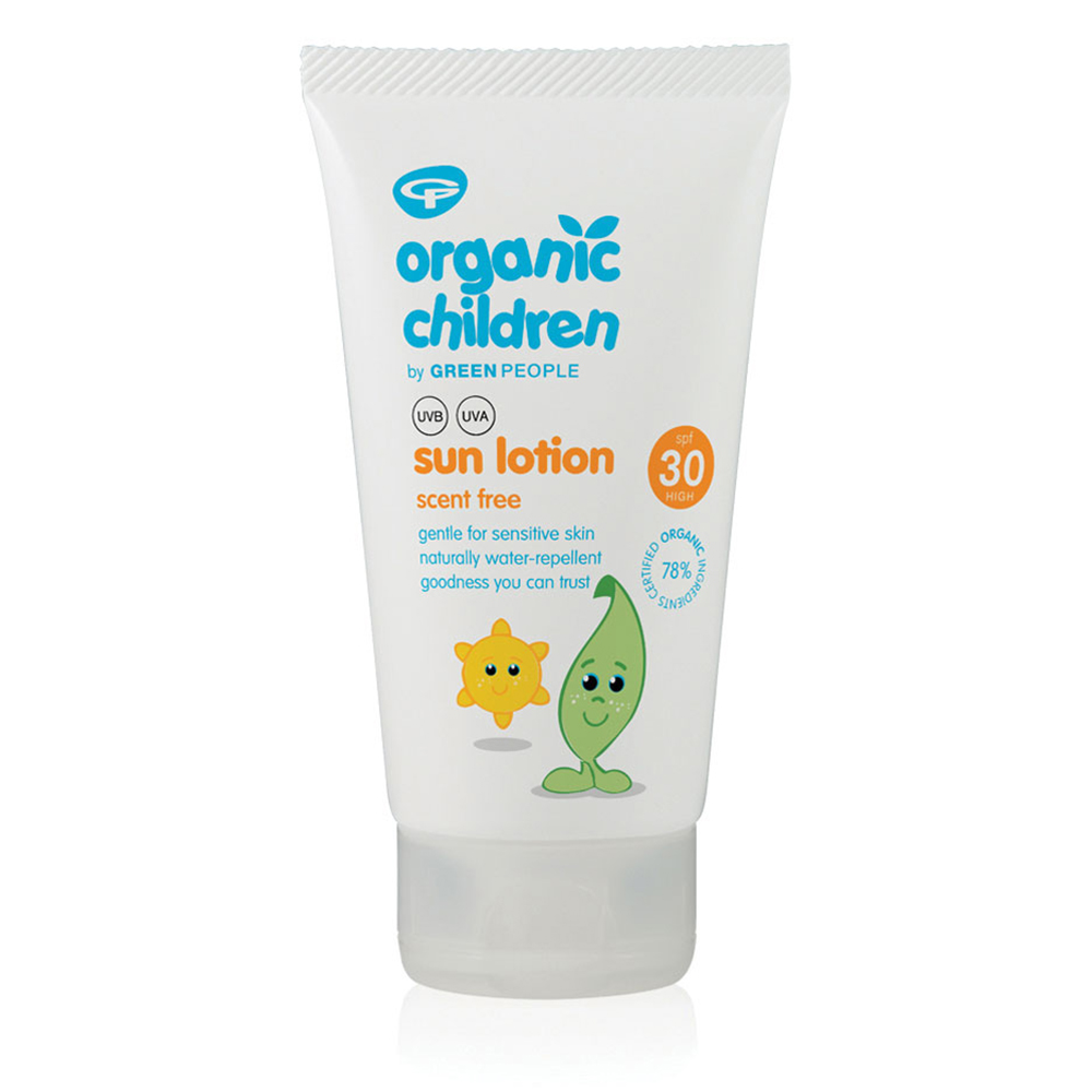 Green People Organic Children Scent Free Sun Lotion SPF30