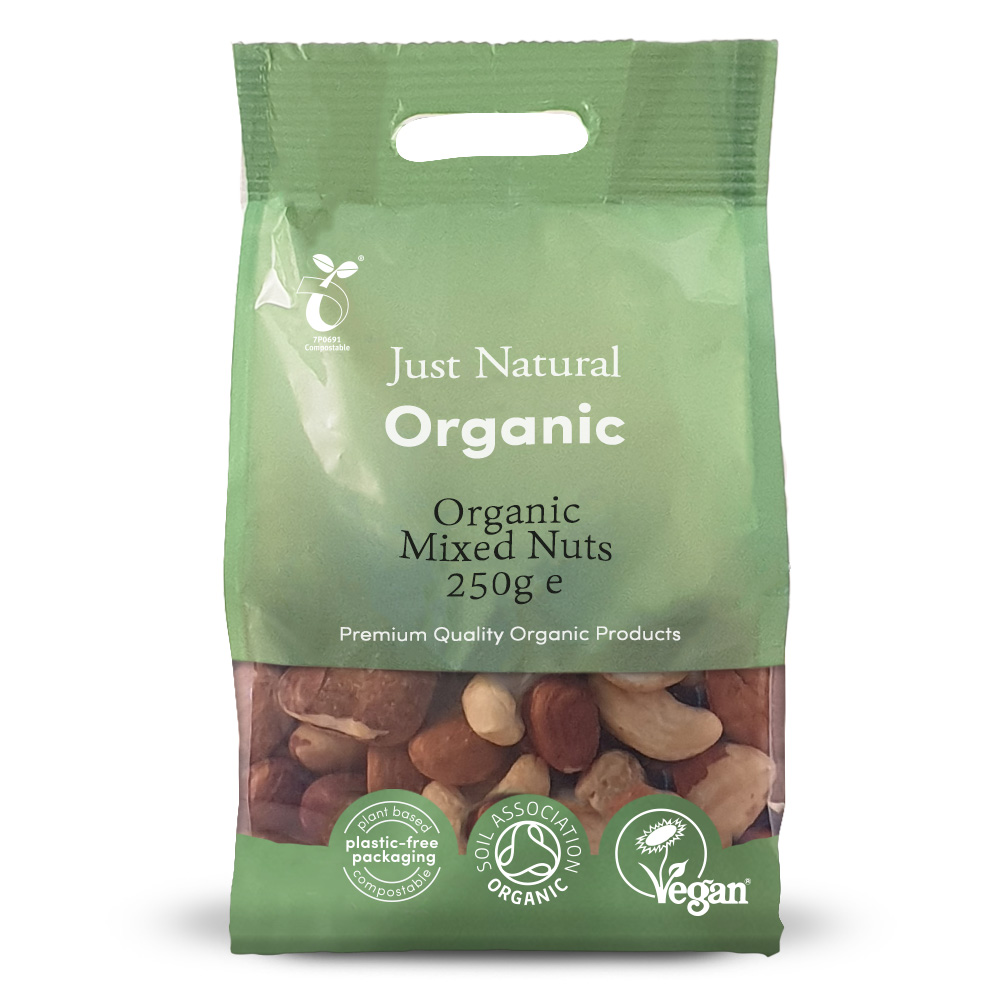 Organic Mixed Nuts 250g