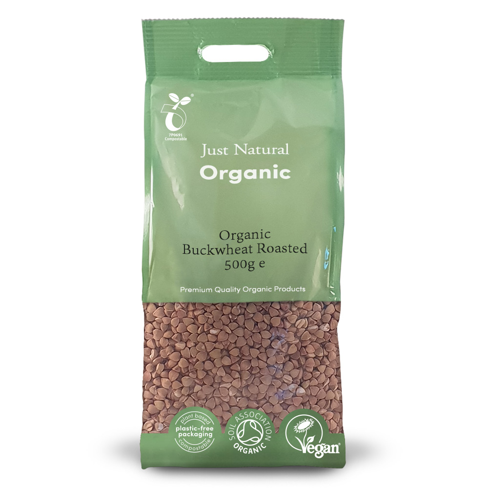 Organic Buckwheat Roasted 500g