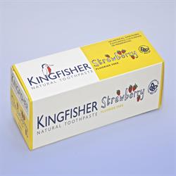 Kingfisher Strawberry Toothpaste 75ml