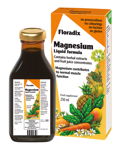 Magnesium Liquid mineral supplement 250ml