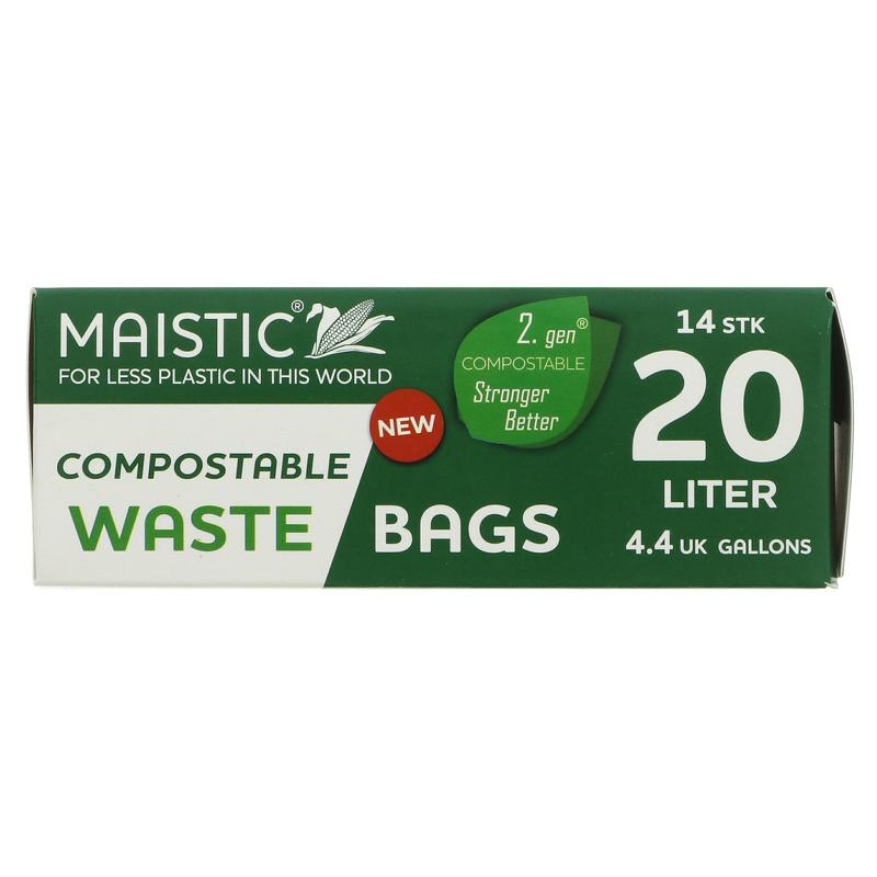 Maistic Compostable Bin Liners 20l
