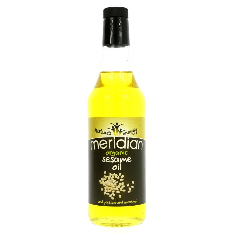 Meridian Organic Sesame Oil Cold Pressed 500ml