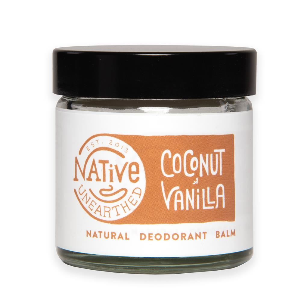 Native Unearthed Coconut and Vanilla Balm 60ml