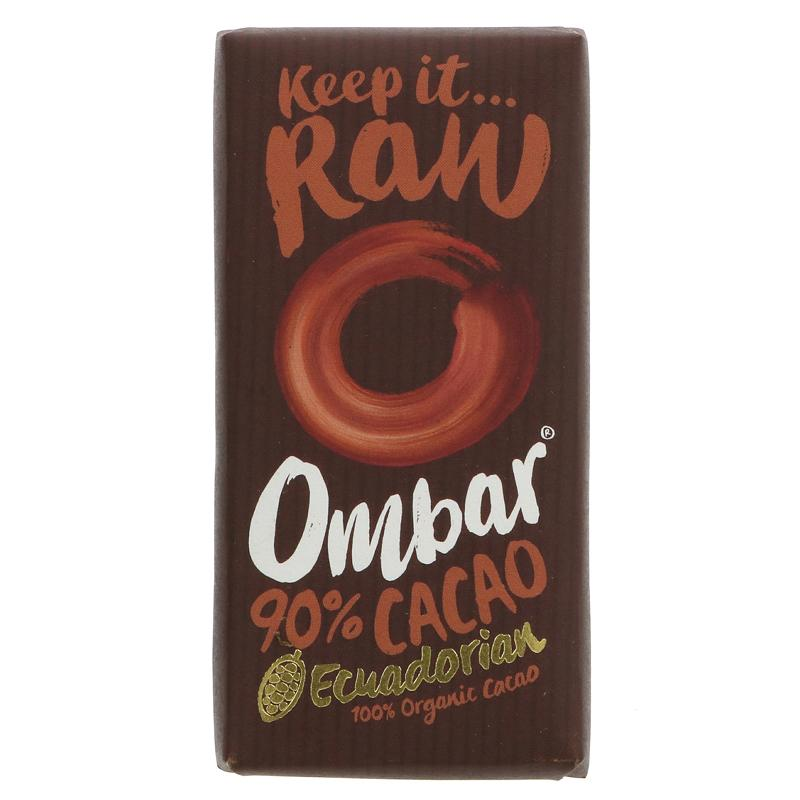 Ombar Raw Chocolate 90% Raw Chocolate