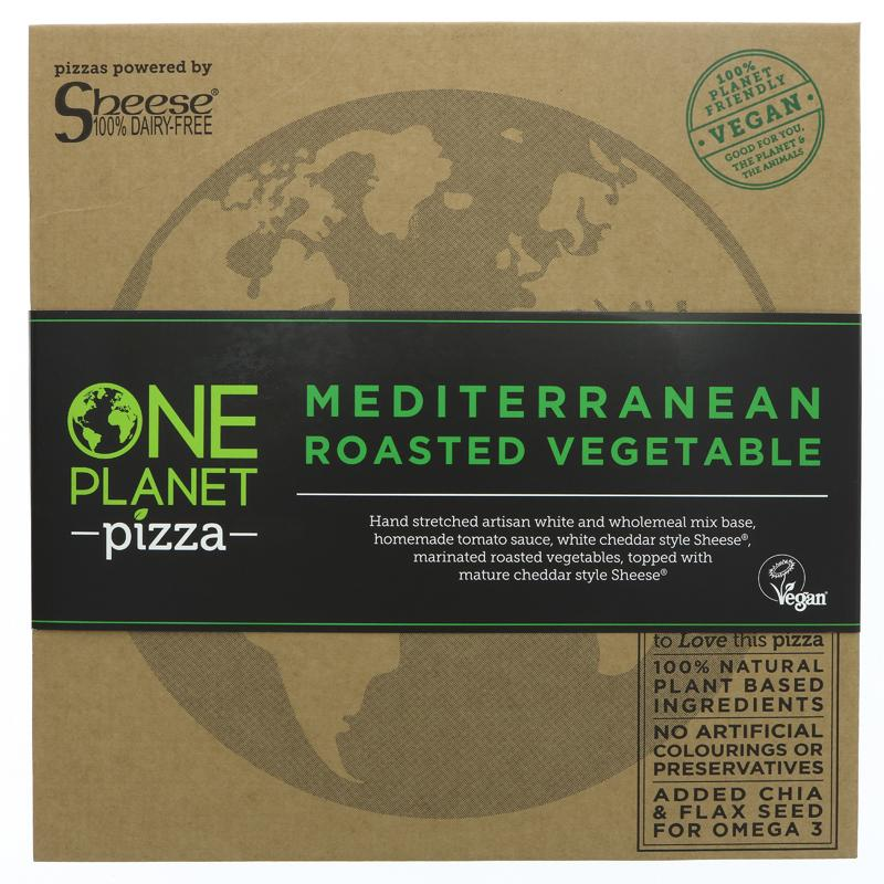 One Planet Pizza Mediterranean Vegetable Pizza
