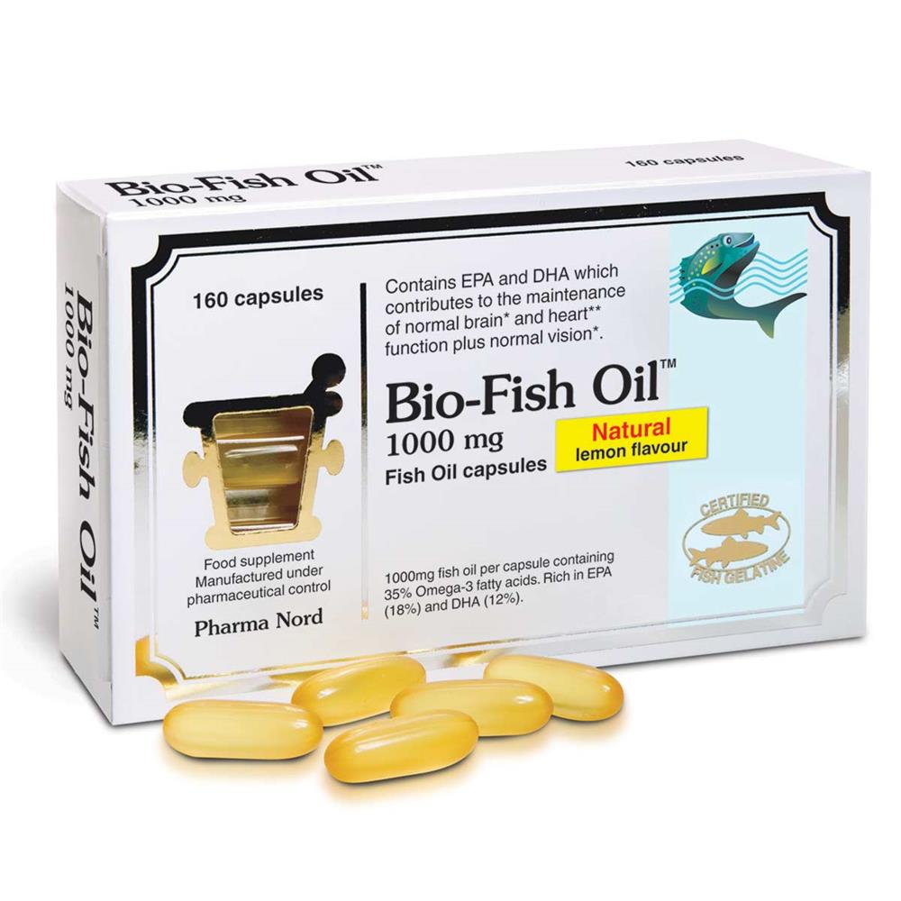 Bio-Fish Oil 1000mg 160 capsules