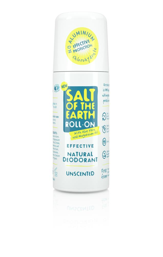 Salt of the Earth Natural Roll-On Deodorant 75ml