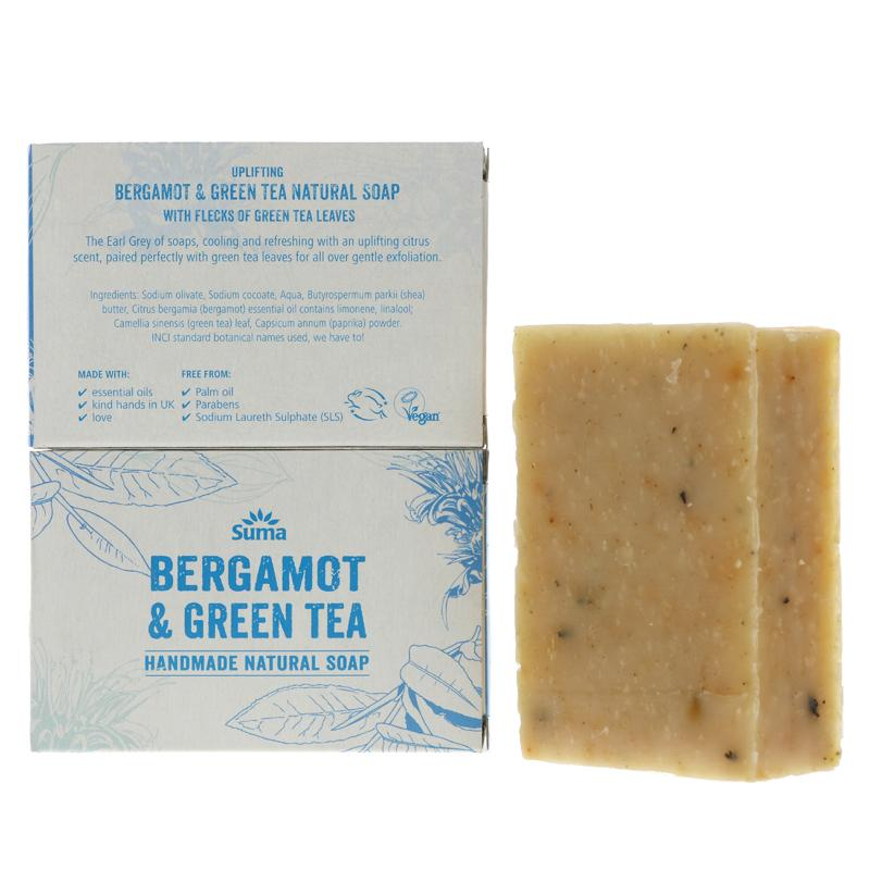 Suma Bergamot & Green Tea Soap
