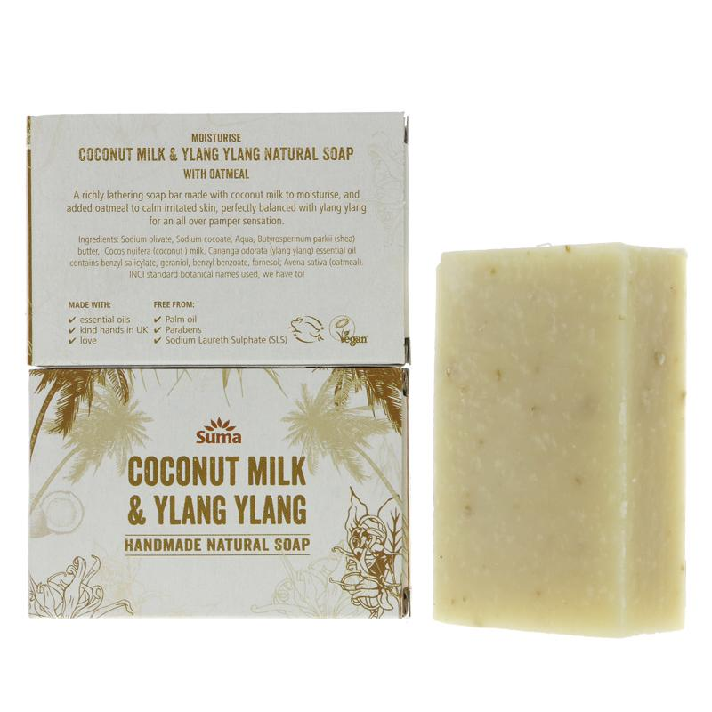 Suma Coconut Milk Ylang Ylang Soap