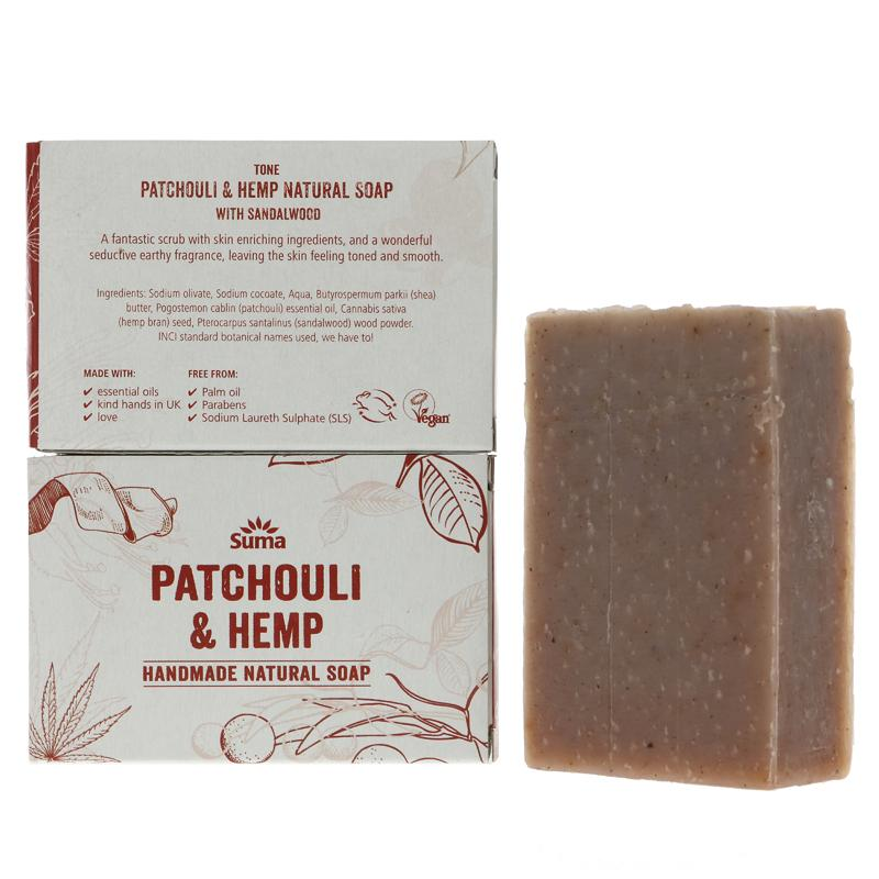 Suma Patchouli & Hemp Soap