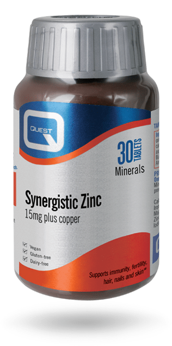 Synergistic Zinc 15mg 90 Tablets