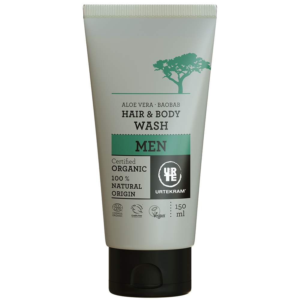 Organic Men's Hair & Body Wash 150ml
