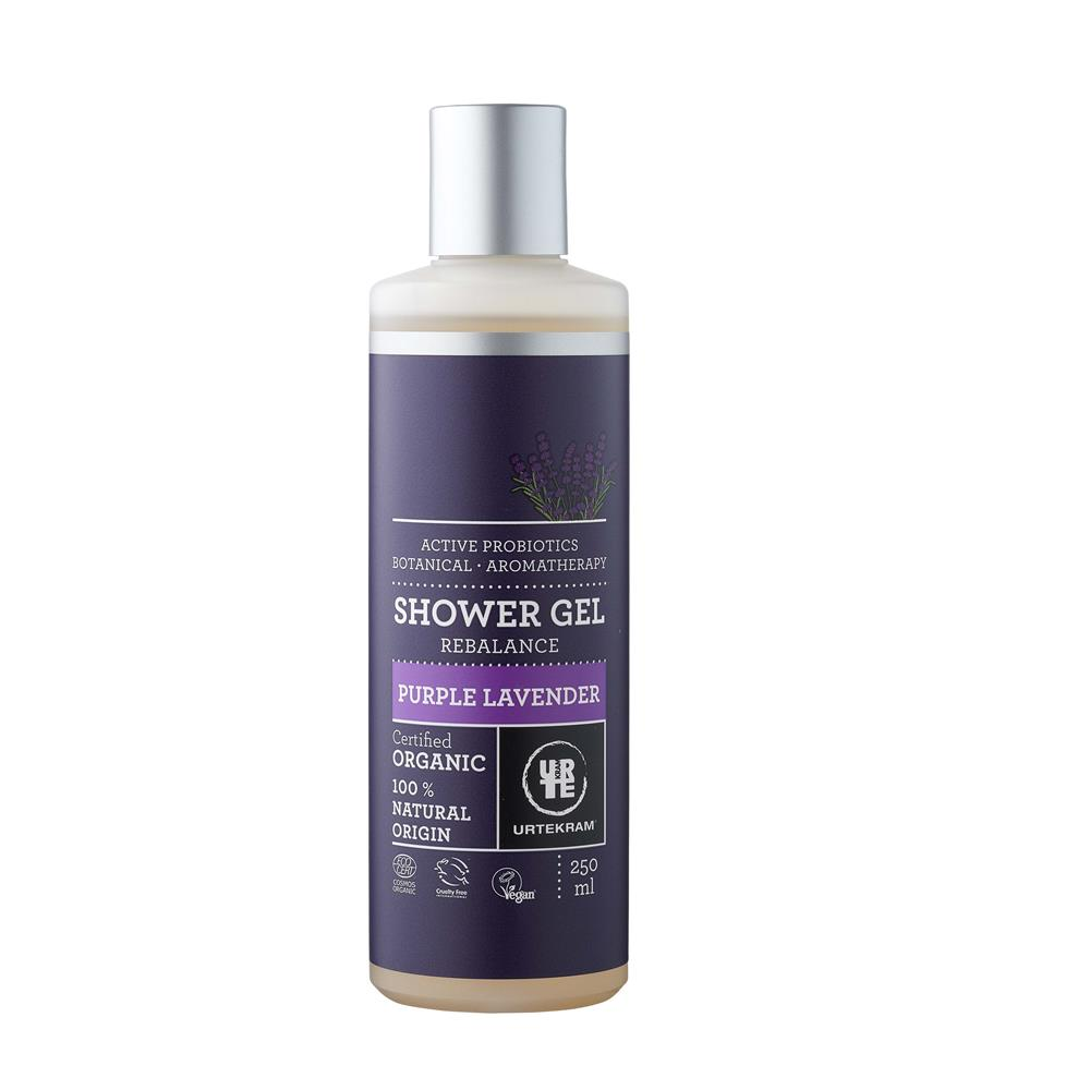 Organic Purple Lavender Shower Gel
