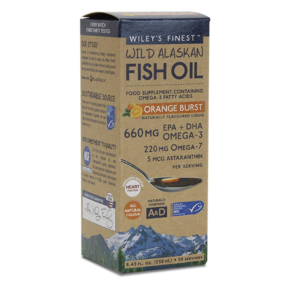 Fish Oil Orange Burst 250ml