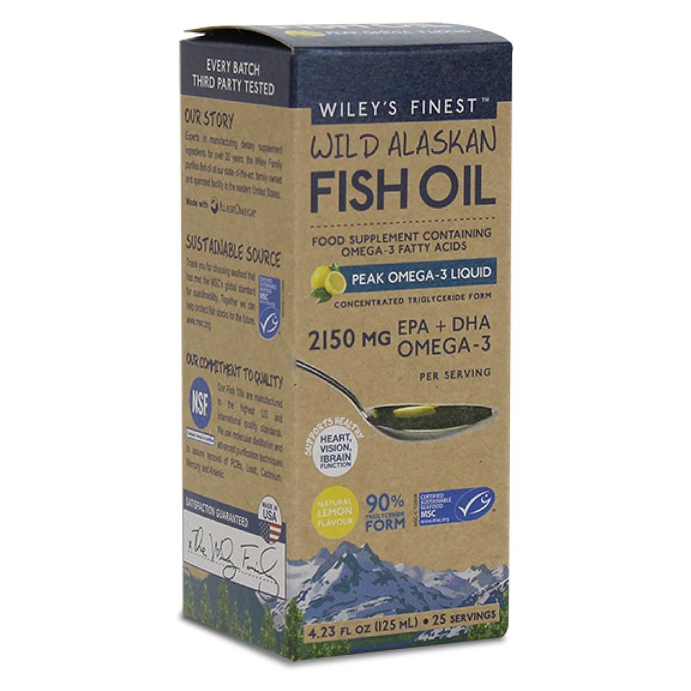 Peak Omega-3 Liquid 125ml