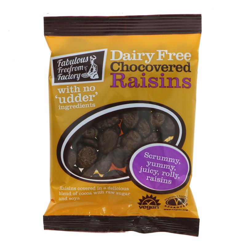 Fabulous Free From Factory Dairy Free Chocolate Raisins