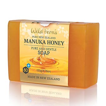 Wild Fern's Manuka Honey Soap