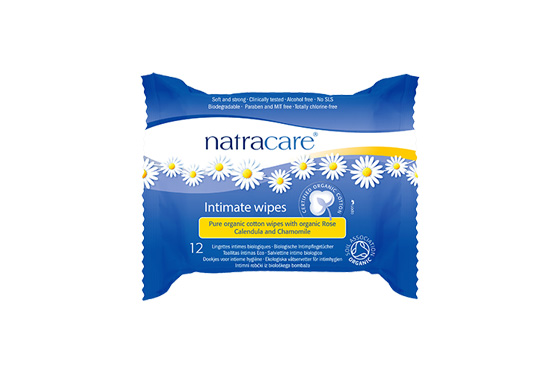 Natracare Organic Intimate Wipes