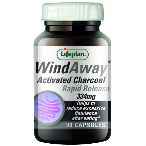 WindAway Activated Charcoal 334mg 30 Capsules