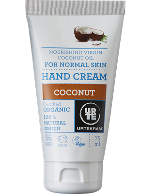 Organic Coconut hand cream 75 ml