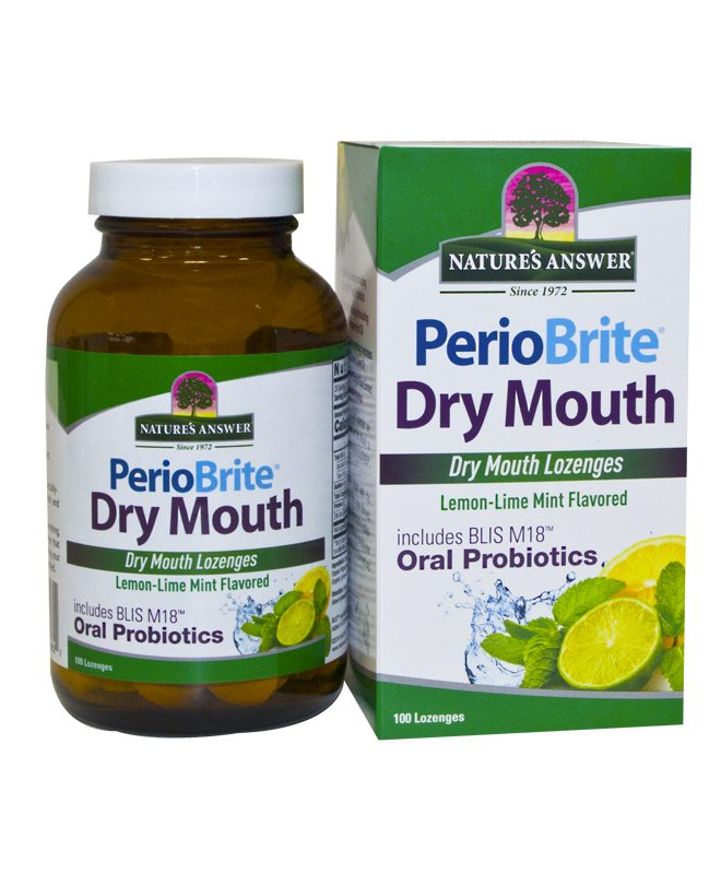 PerioBrite Dry Mouth – 100 Lozenges
