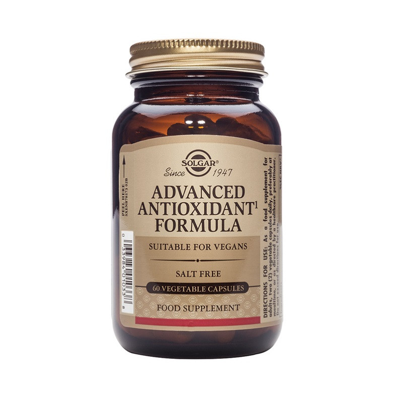Advanced Antioxidant Formula Vegetable 60 Capsules