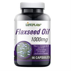 Flaxseed Oil Capsules 1000mg 90 capsules