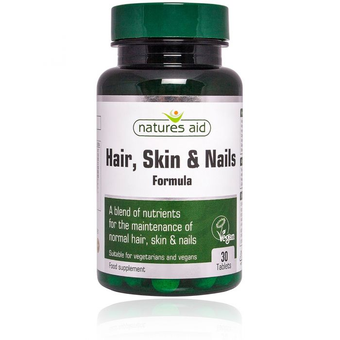 Hair, Skin and Nails Formula 30 Tablets