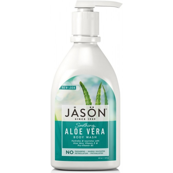 Aloe Vera Satin Body Wash with Pump 887ml