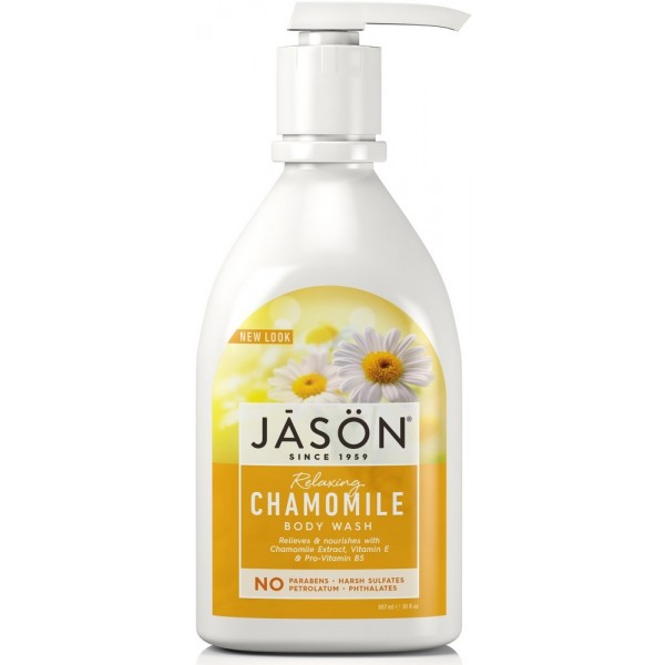 Chamomile Satin Body Wash with Pump 900ml