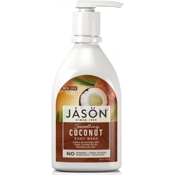Coconut Satin Body Wash with Pump 887ml