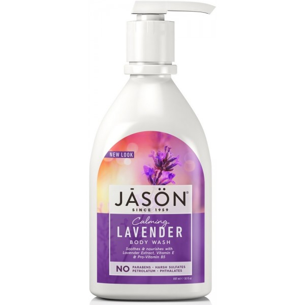 Lavender Satin Body Wash W/Pump 887ml